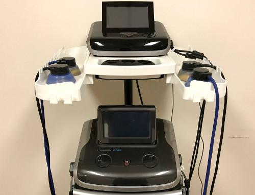 地域で唯一の最新の治療機器